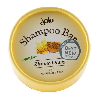 Shampoo Bar Zitrone/Orange (Pappdose)